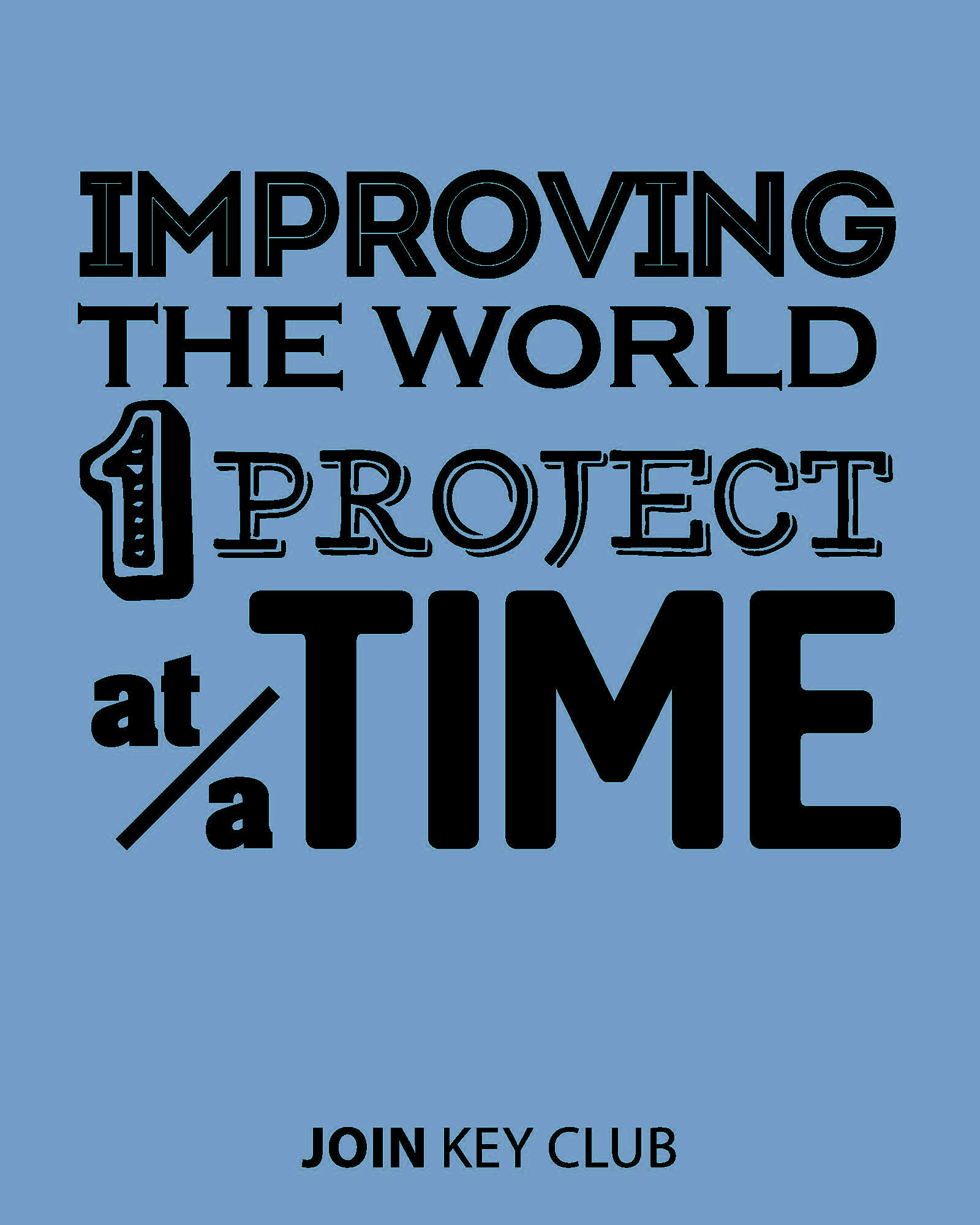 improving the world one project at a time